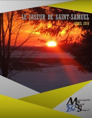 Le Jaseur aril 2018